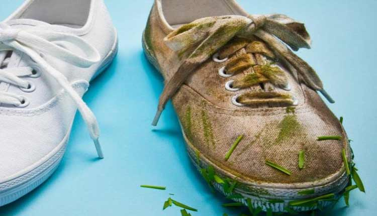 tips to clean white shoes
