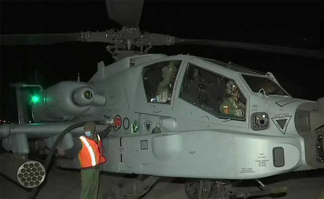 Night Operation by india air force