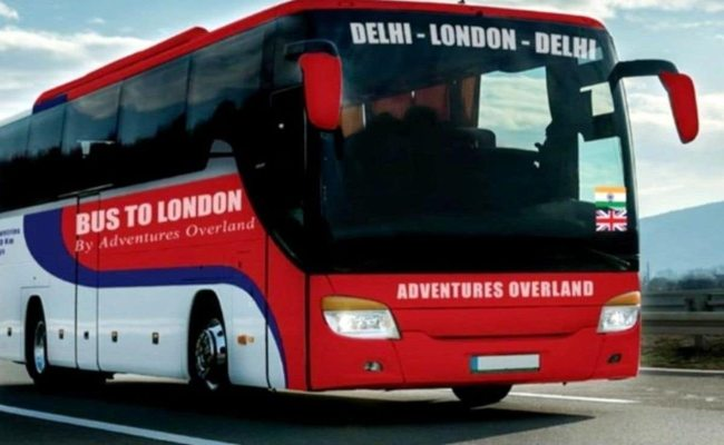 bus from Delhi to London