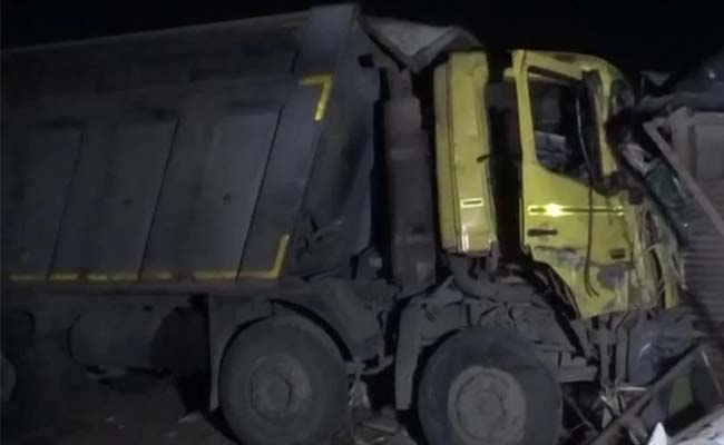 truck which made the accident
