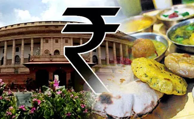 Food price in parliament