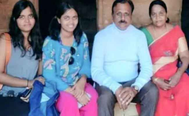 Ap Superstitious couple with theeir daughter