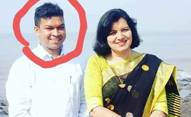 bjp Mp Aparajita sarangi with her PS