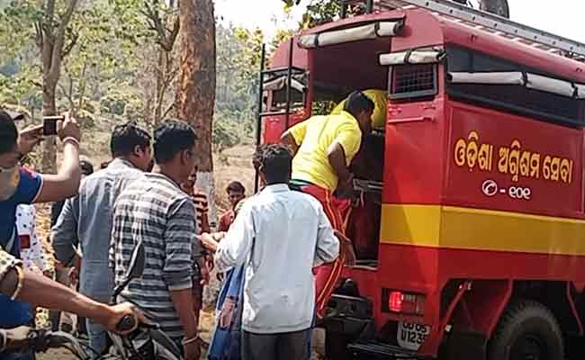 Accident at R.Udayagiri