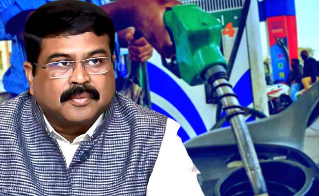 Dharmendra pradhan on petrol price hike