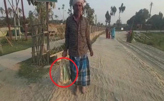 Man forced to carry son's body in bag in Katihar