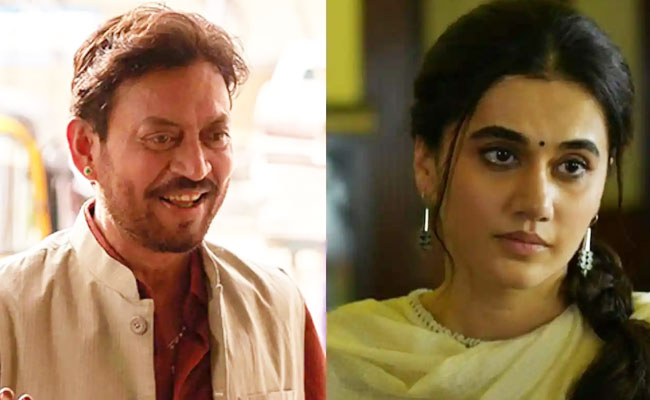 Irrfan Khan and Taapsee pannu