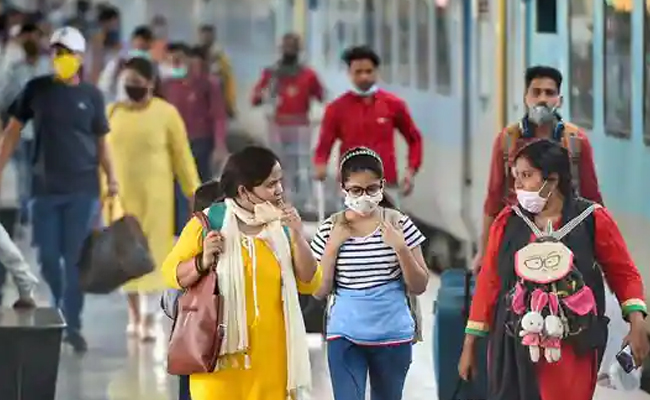 fine on not wearing mask in trains