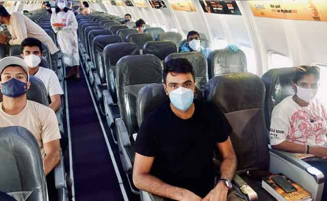 Team India Traveling to England
