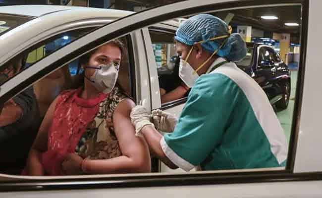 Drive in vaccination