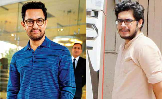 Aamir Khan and his son