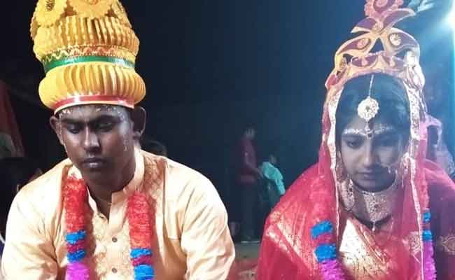 Couple Married in Bangladesh