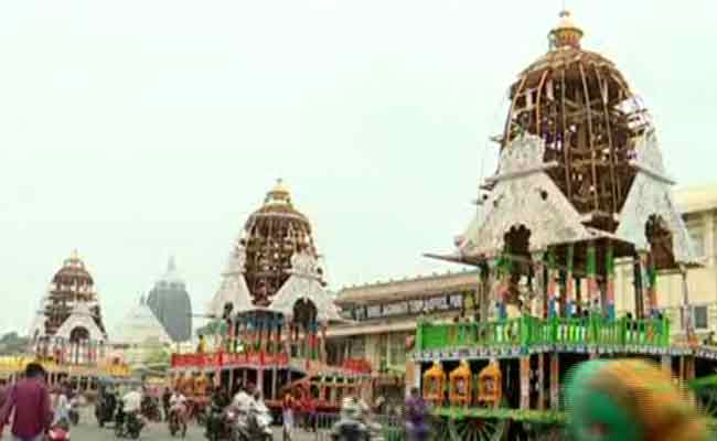 3 chariots in Puri