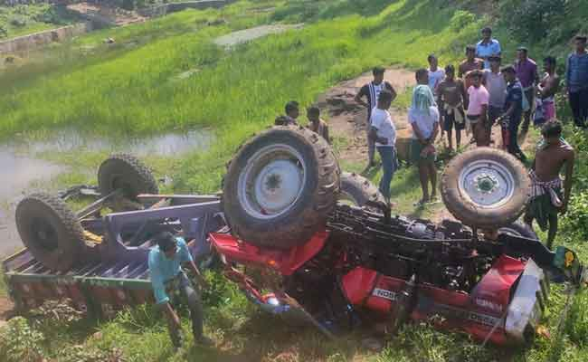 Tractor Accident