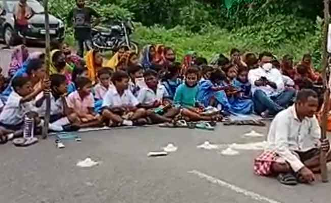 Students stage Protest