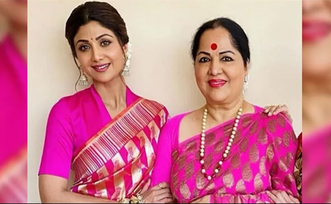 Shilpa and his mother